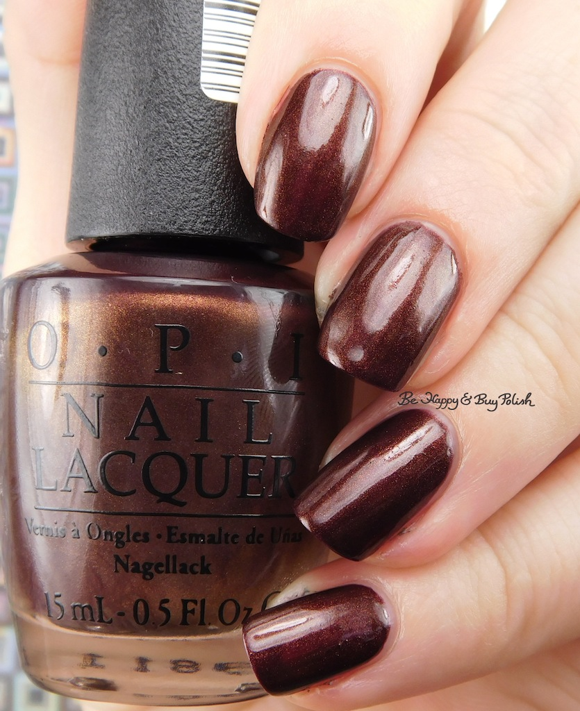 OPI Stay Off the Lawn! + Espresso Your Style! swatches + review | Be ...