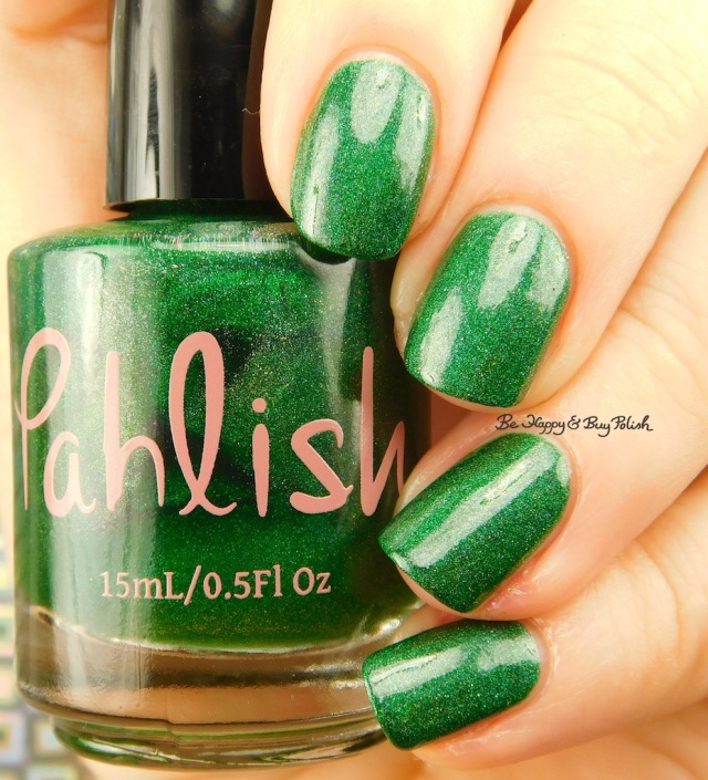 Pahlish Test Batch Pinewood | Be Happy And Buy Polish
