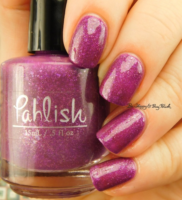 Pahlish Test Batch Wild Roses | Be Happy And Buy Polish