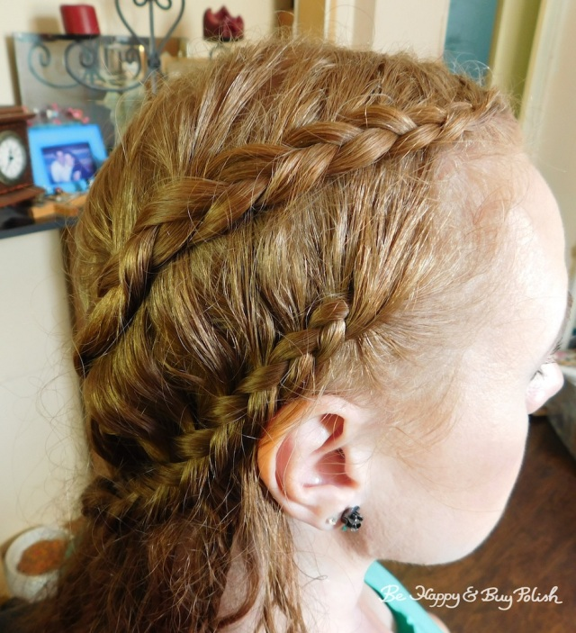 Renaissance Faire long hair braids side views | Be Happy And Buy Polish