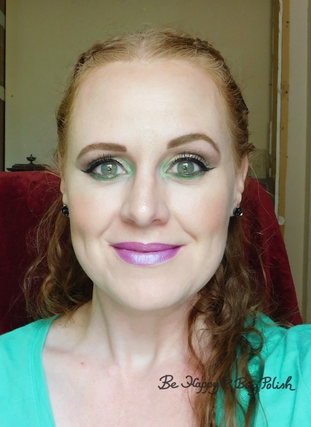 Renaissance Faire makeup with Wet N Wild, Glamour Doll Eyes, Revlon | Be Happy And Buy Polish