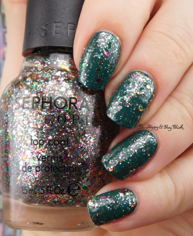 Sephora by OPI Sparktacular! over OPI Stay Off the Lawn!! | Be Happy And Buy Polish