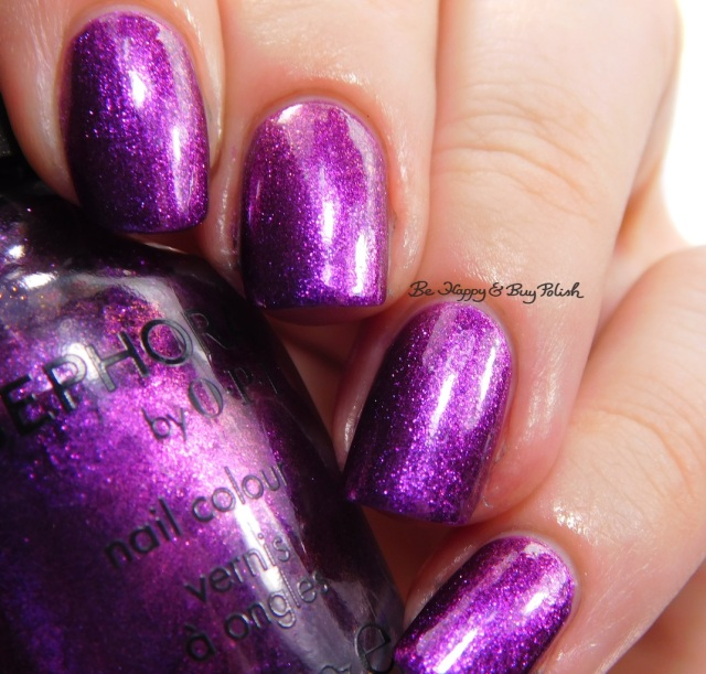 Sephora by OPI What Film Noir You In? | Be Happy And Buy Polish