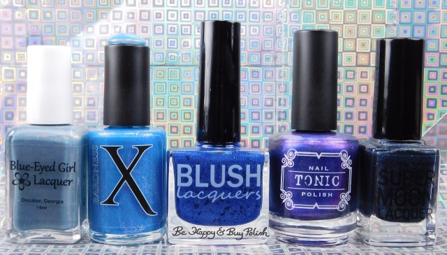 The Color Box Blue Eyed Girl Lacquer, Baroness X, Blush Lacquers, Tonic Nail Polish, SuperMoon Lacquer | Be Happy And Buy Polish