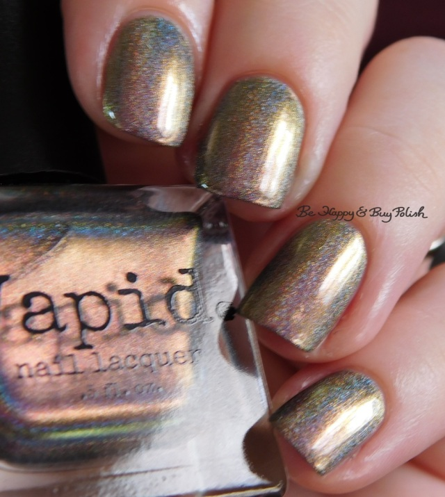 Vapid Lacquer Cyber Punk gold beige | Be Happy And Buy Polish