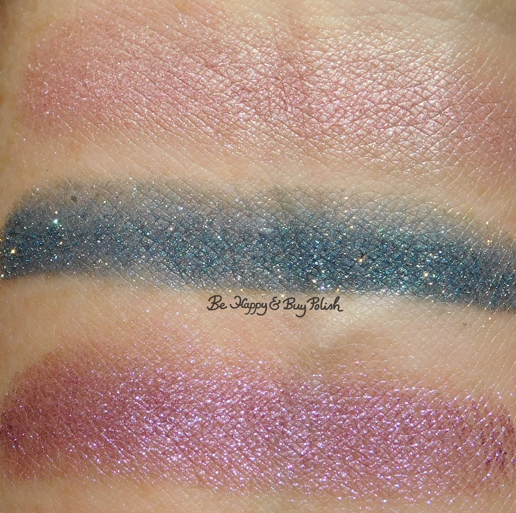 Wet N Wild Coloricon Loose Pigment Pegasus Flutter, Unicorn Wishes,  Mythical Dreams Sun Swatches