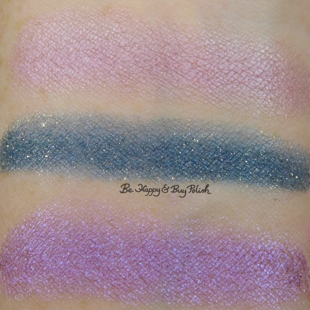 Wet N Wild ColorIcon Loose Pigment Pegasus Flutter, Unicorn Wishes, Mythical Dreams swatches | Be Happy And Buy Polish