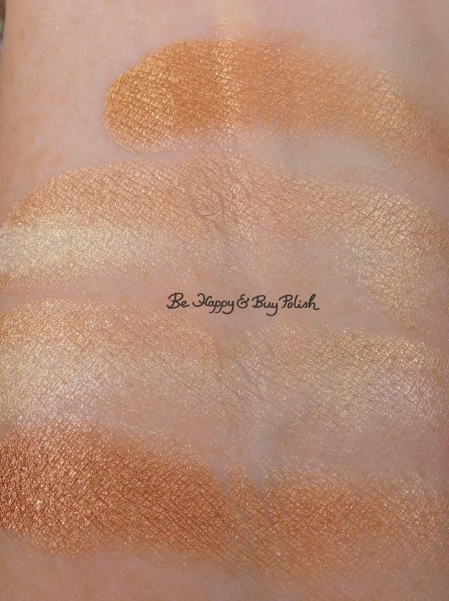 Wet N Wild ColorIcon Rainbow Highlighter Bronze Over the Rainbow swatch | Be Happy And Buy Polish