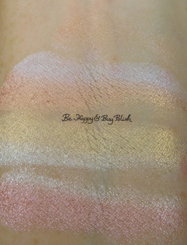 Wet N Wild ColorIcon Rainbow Highlighter Everlasting Glow swatch | Be Happy And Buy Polish