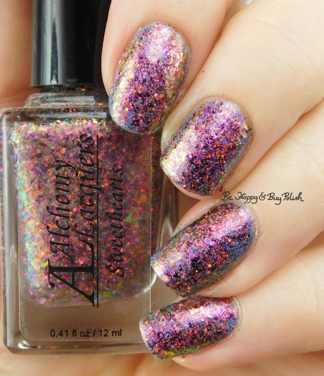Alchemy Lacquers Sweethearts over KBShimmer Got It Sandaled | Be Happy And Buy Polish