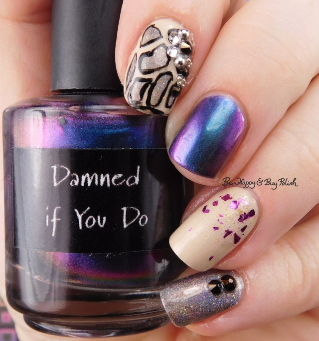CrowsToes Damned If You Do, Turtle Tootsie Polishes Aquarius, Painted Polish Gray Goddess    Be Happy And Buy Polish