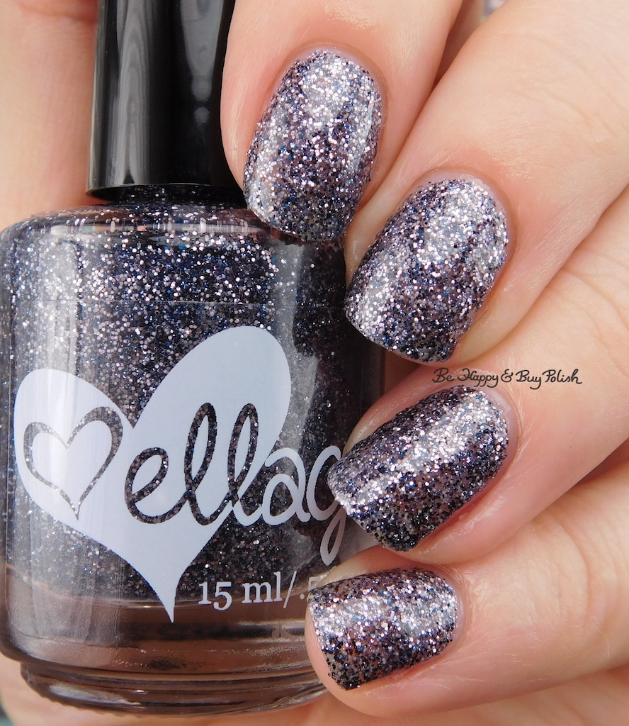 ellagee Polish Don\'t You Dare Blink nail polish swatch + review | Be ...