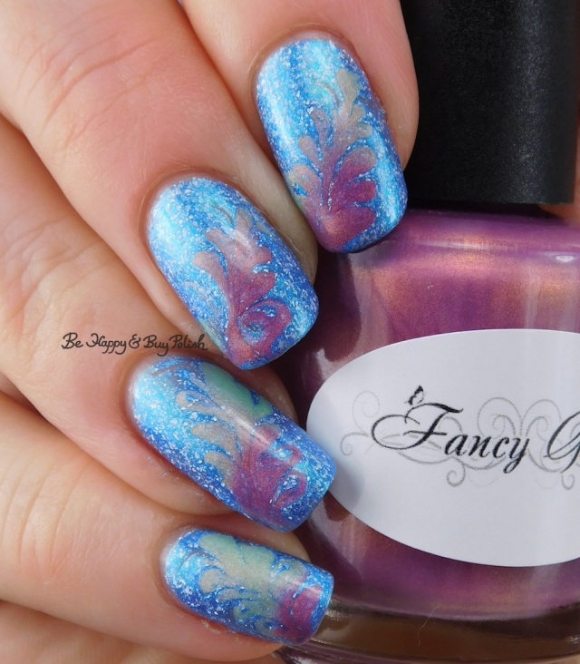 Fancy Gloss Siren's Lure, KBShimmer We Make Your Dreams Come Blue drag marble cold state | Be Happy And Buy Polish