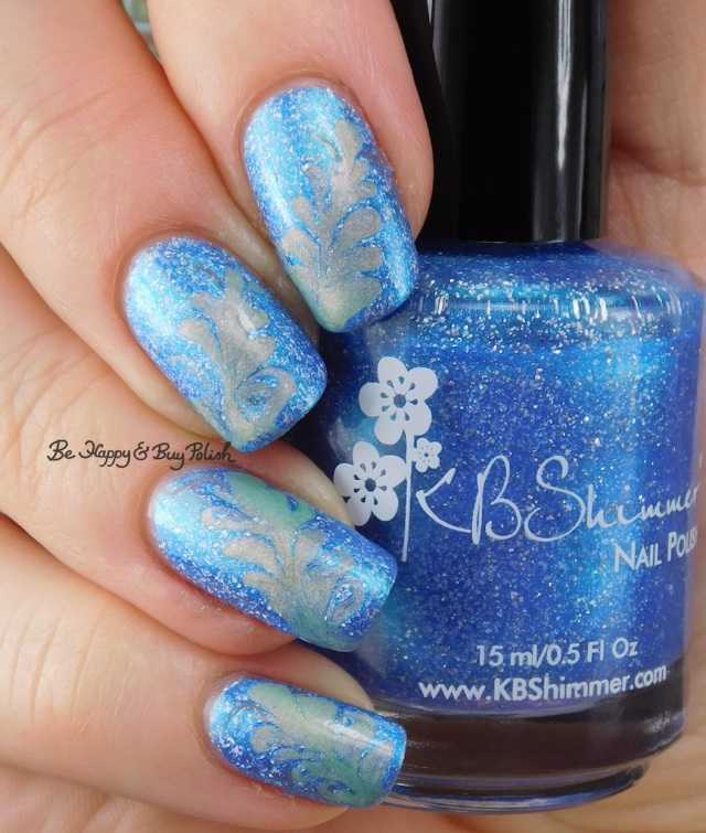 Fancy Gloss Siren's Lure, KBShimmer We Make Your Dreams Come Blue drag marble | Be Happy And Buy Polish
