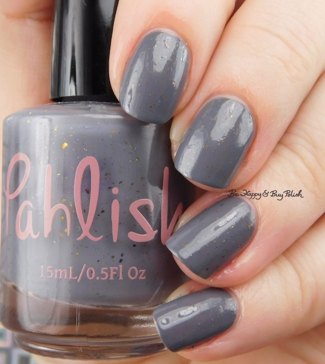 Pahlish grey flakie mystery | Be Happy And Buy Polish
