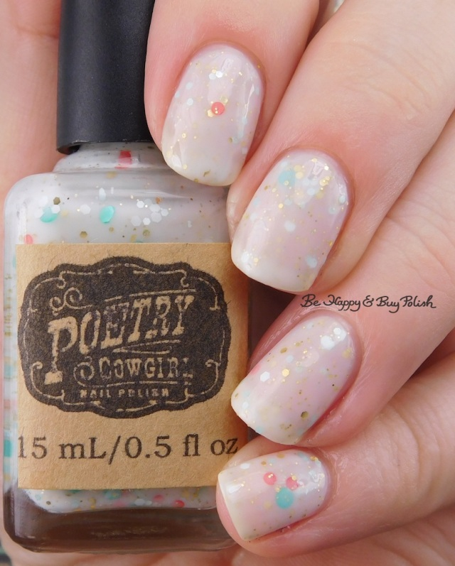 Poetry Cowgirl Nail Polish Mint to be Mine | Be Happy And Buy Polish