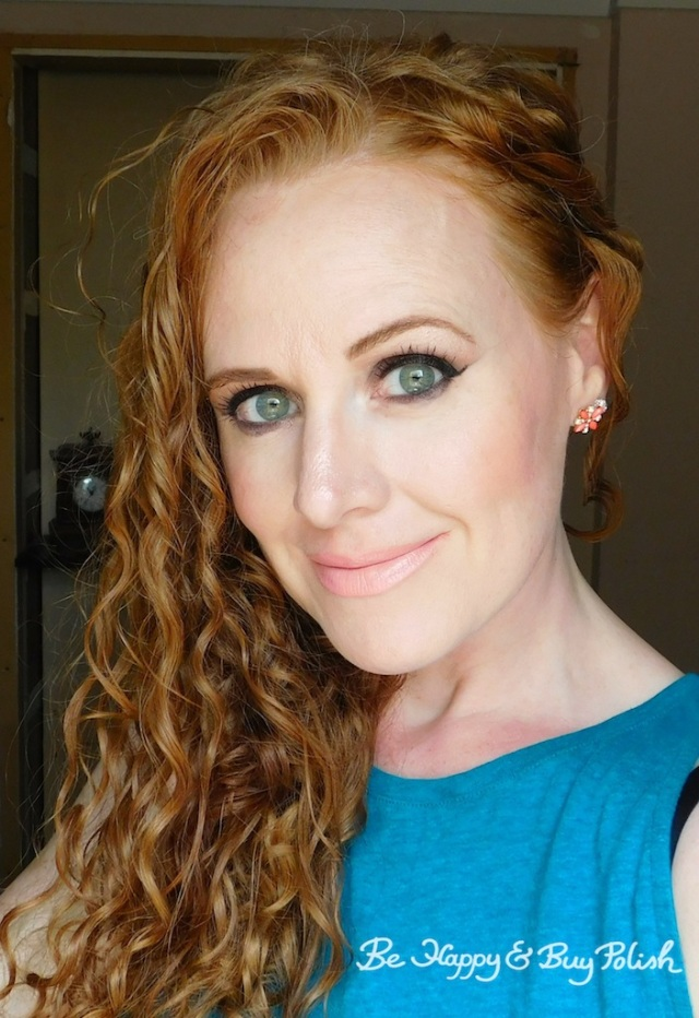 smokey eye and nude lipstick makeup look for redheads | Be Happy And Buy Polish