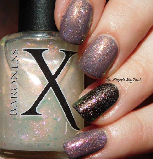 Baroness X Panty Dropper, Polish 'M The House Always Wins, KBShimmer Cubicle Pusher holographic | Be Happy And Buy Polish