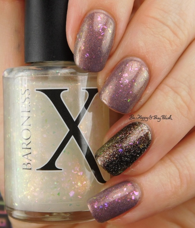 Baroness X Panty Dropper, Polish 'M The House Always Wins, KBShimmer Cubicle Pusher | Be Happy And Buy Polish