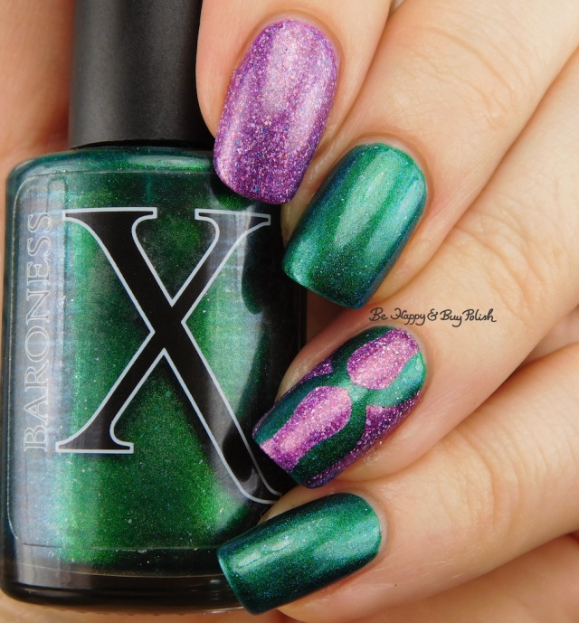 Baroness X Rainbow Serpent, Polish 'M Uplift, Darling Diva Polish Mermaid Pee | Be Happy And Buy Polish