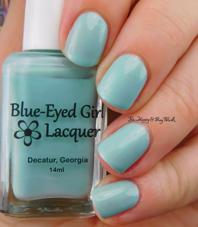 Blue Eyed Girl Lacquer Monster's Tea at Tiffany's | Be Happy And Buy Polish