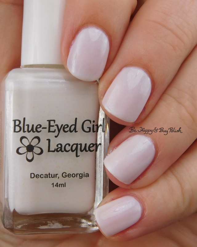 Blue Eyed Girl Lacquer Untrodden Snow | Be Happy And Buy Polish