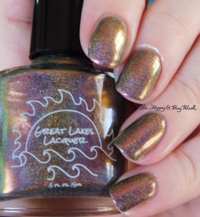 Great Lakes Lacquer The Centre Cannot Hold bronze | Be Happy And Buy Polish