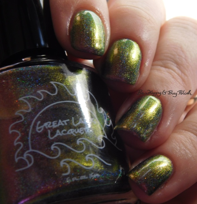 Great Lakes Lacquer The Centre Cannot Hold green | Be Happy And Buy Polish