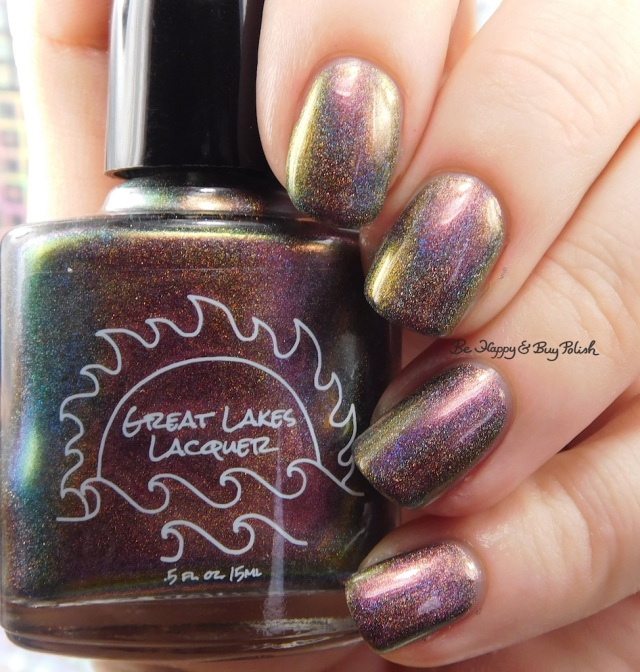 Great Lakes Lacquer The Centre Cannot Hold mauve | Be Happy And Buy Polish