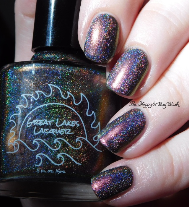 Great Lakes Lacquer The Centre Cannot Hold pink holographic | Be Happy And Buy Polish