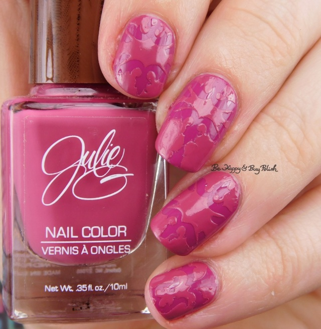 Julie G Faith and Aria brocade manicure | Be Happy And Buy Polish
