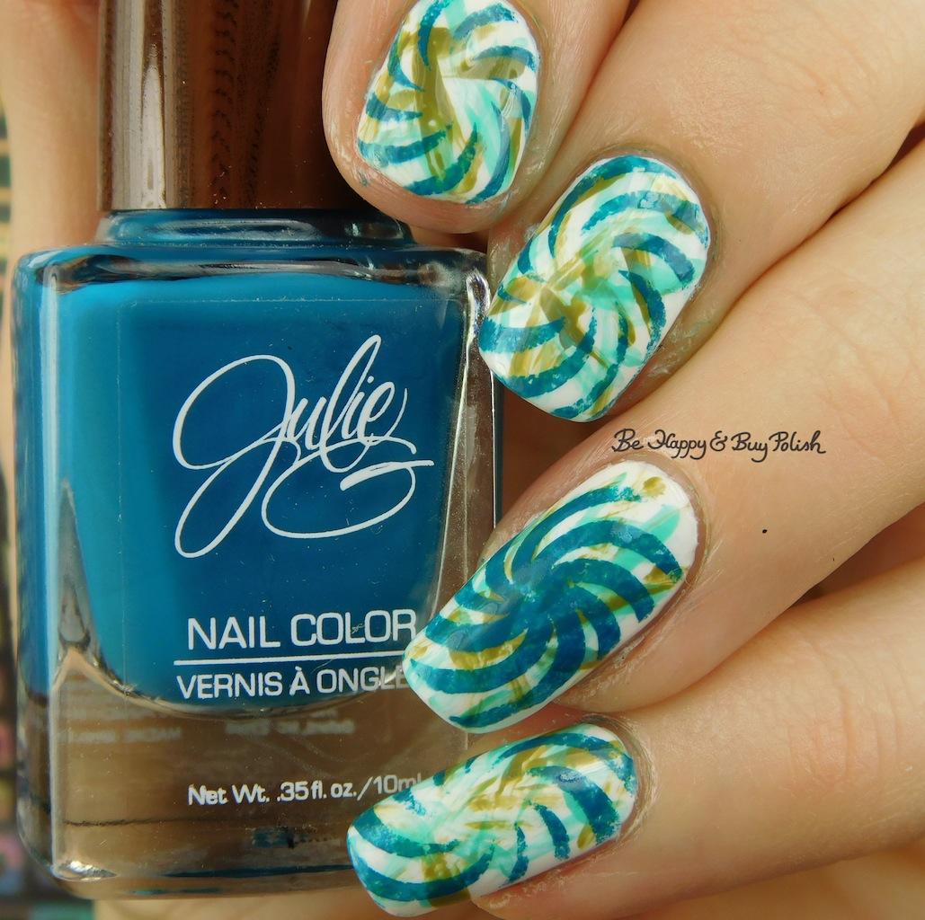 Julie G Bohemian Dreams nail polish collection nail art | Be Happy ...