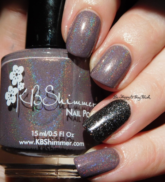 KBShimmer Cubicle Pusher, Polish 'M The House Always Wins holographic | Be Happy And Buy Polish