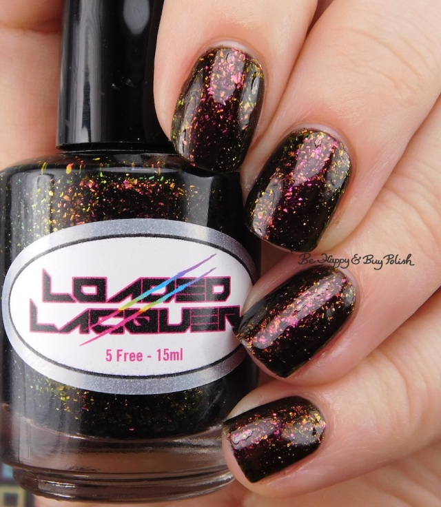 Loaded Lacquer Gym-timidation | Be Happy And Buy Polish