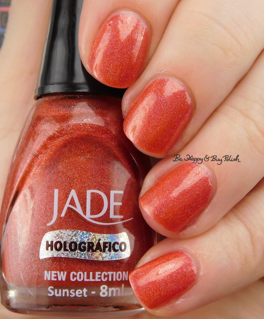 Jade Sunset nail polish swatch + review | Be Happy and Buy Polish