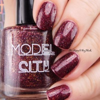 Model City Polish Fall in Love nail polish swatch + review
