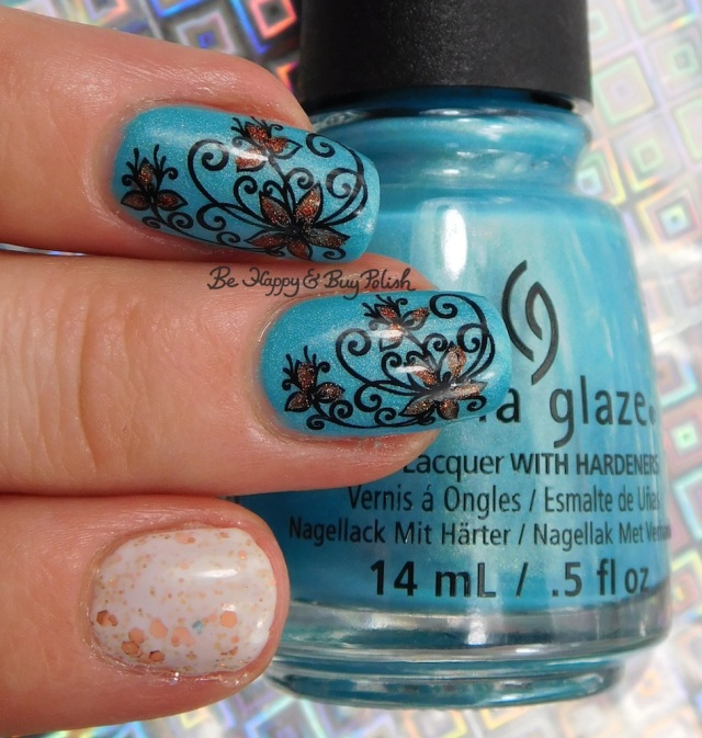 China Glaze What I Like About Blue, CrowsToes Milquetoast | Be Happy And Buy Polish
