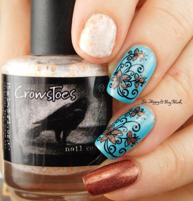 CrowsToes Milquetoast, China Glaze What I Like About Blue, KBShimmer I Never Wood Have Guessed | Be Happy And Buy Polish