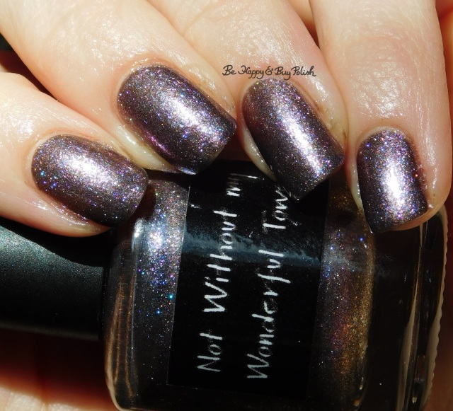 CrowsToes Nail Color Not Without My Wonderful Towel holographic | Be Happy And Buy Polish