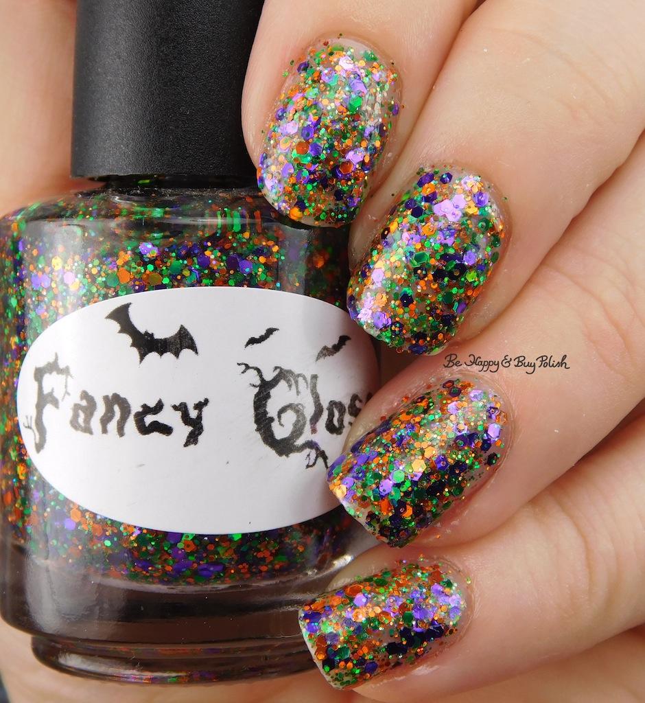 Fancy Gloss Halloween nail polish trio 2016 | Be Happy and Buy Polish