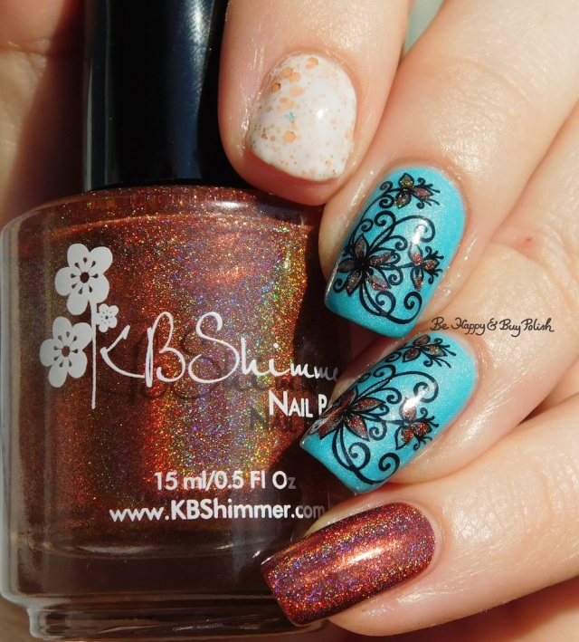 KBShimmer I Never Wood Have Guessed, CrowsToes Milquetoast, China Glaze What I Like About Blue | Be Happy And Buy Polish