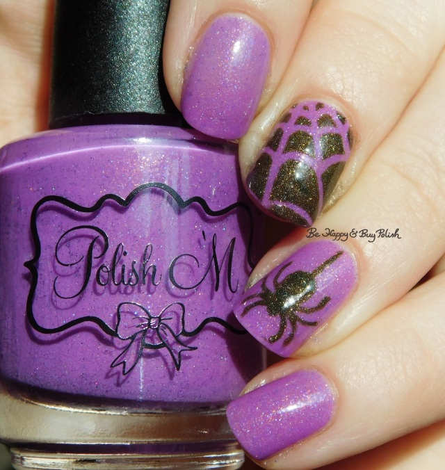 Spider web nail art Turtle Tootsie Polishes Frankenstein's Mask, Polish 'M Trans Allegheny cold state holographic | Be Happy And Buy Polish