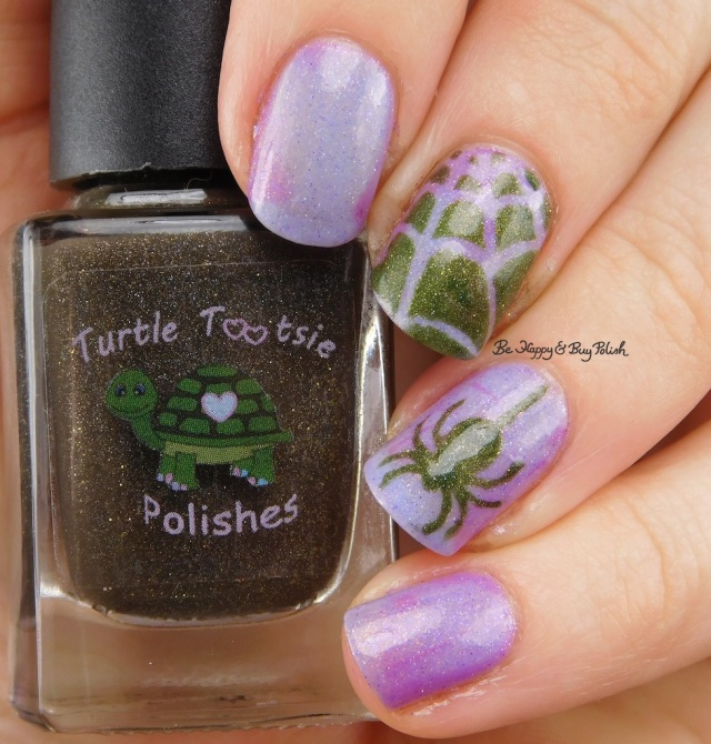 Spider web nail art Turtle Tootsie Polishes Frankenstein's Mask, Polish 'M Trans Allegheny transition state | Be Happy And Buy Polish