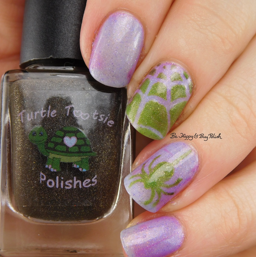 Halloween Spider Nail Art Thermal Manicure with Polish \'M and Turtle ...