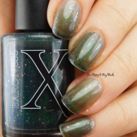 Baroness X Ghastly thermal nail polish swatch + review