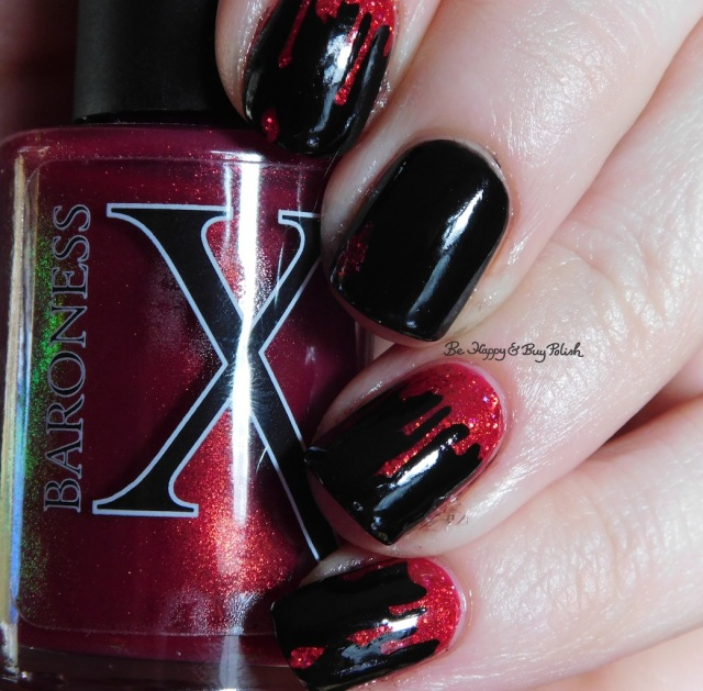 Baroness X Magma green shift over Pahlish Pianos Filled With Flames, JulieG Black Sheep | Be Happy And Buy Polish
