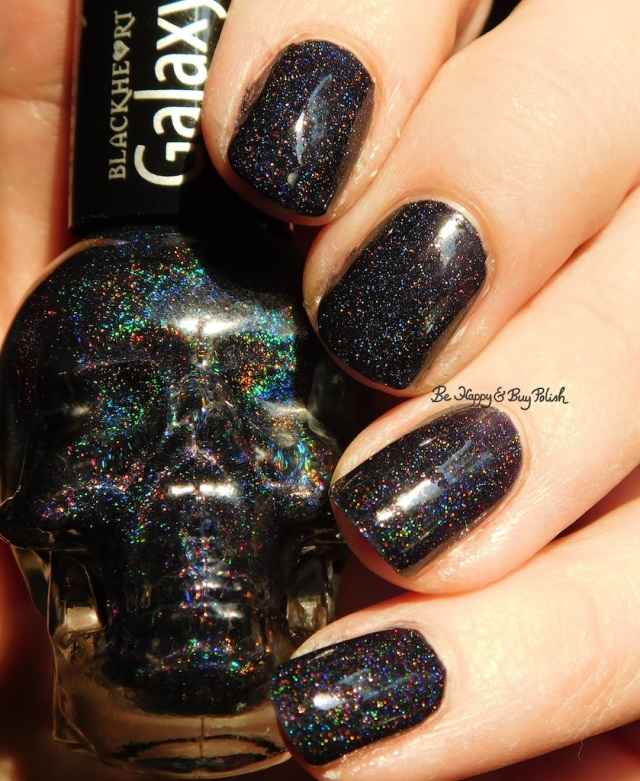 BlackHeart Beauty black holographic | Be Happy And Buy Polish