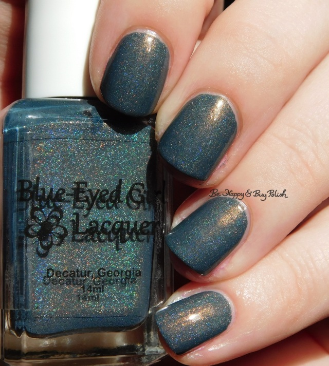 Blue Eyed Girl Lacquer Squall at St George holographic | Be Happy And Buy Polish