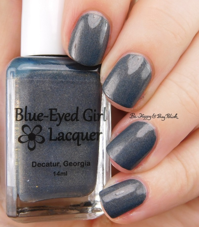 Blue Eyed Girl Lacquer Squall at St George | Be Happy And Buy Polish