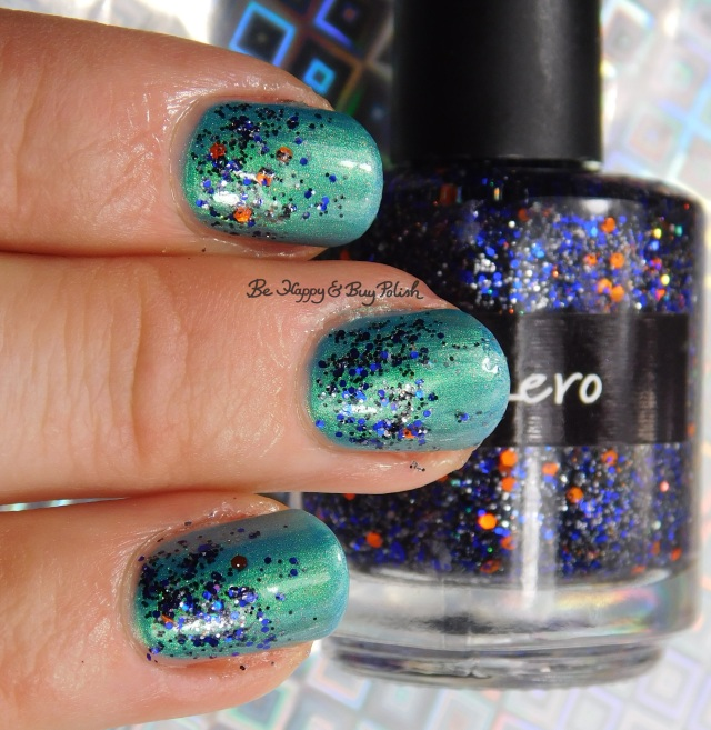 CrowsToes Nail Color Zero over I Need a Tinselectomy | Be Happy And Buy Polish